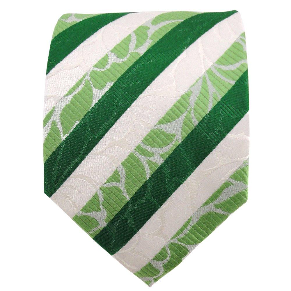 TigerTie diseñador corbata de seda - verde verde esmeralda ...