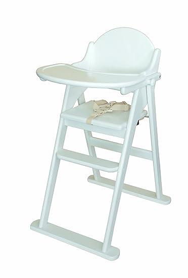 Amazing East Coast Folding Highchair   White