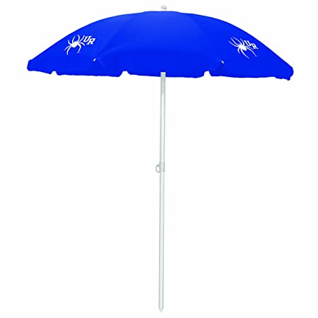 Picnic Time 822-00-138-724-0 University of Richmond Spiders Digital Print Beach Umbrella, Navy