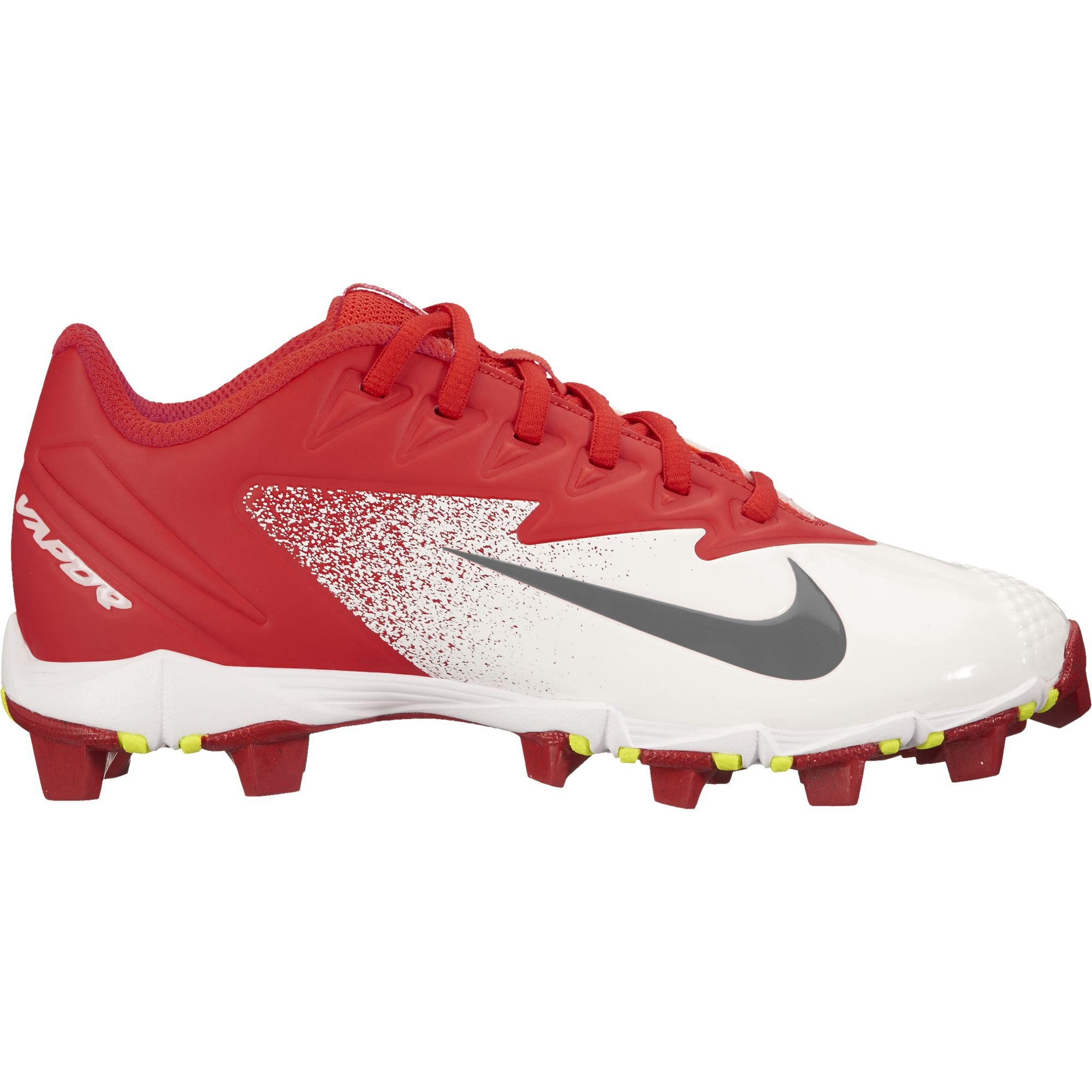 Nike Boy's Vapor Ultrafly Keystone (GS) Baseball Cleat University Red/Bright Crimson/White Size 5.5 M US