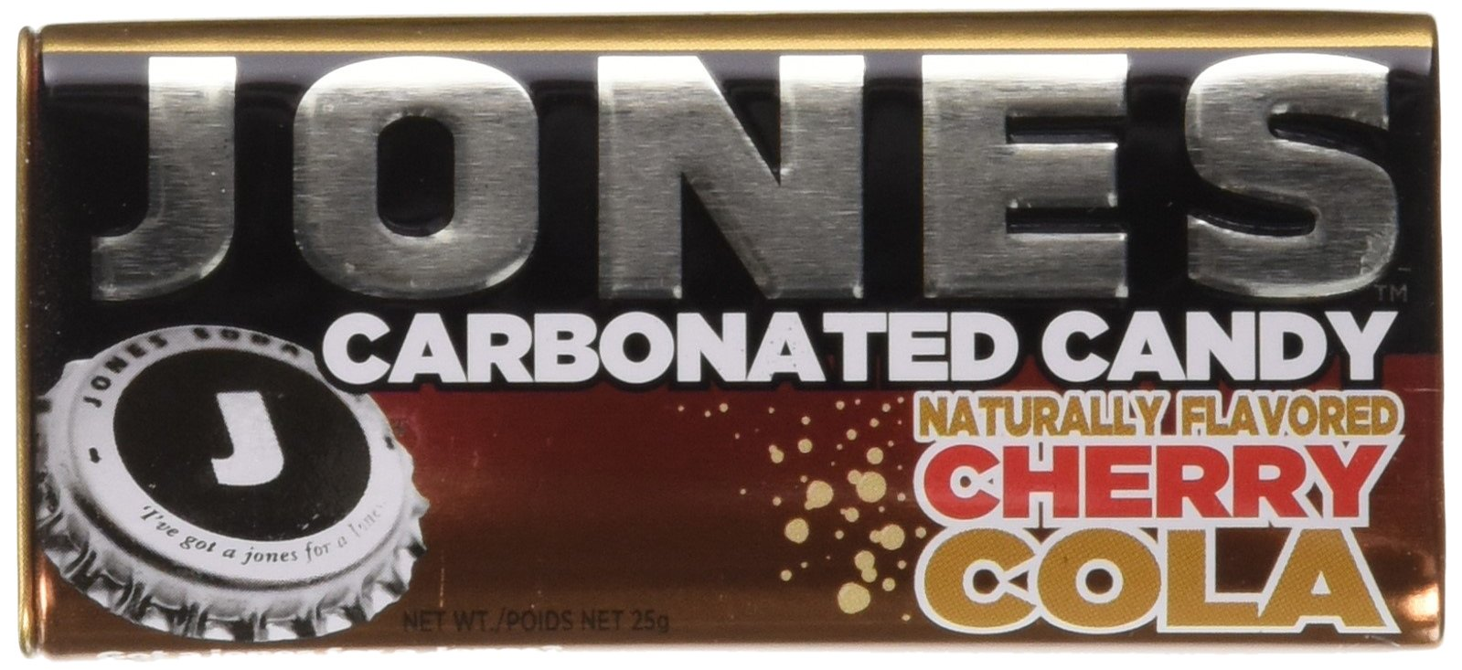 CDM product JONES Soda Carbonated Candy, Cherry Cola, Pack of 8 big image