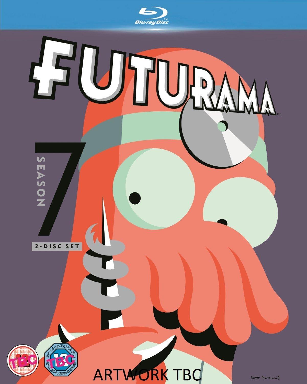 Amazon Com Futurama The Complete Season 7 Blu Ray Billy West Katey Sagal John Dimaggio Tress Macneille Lauren Tom Movies Tv