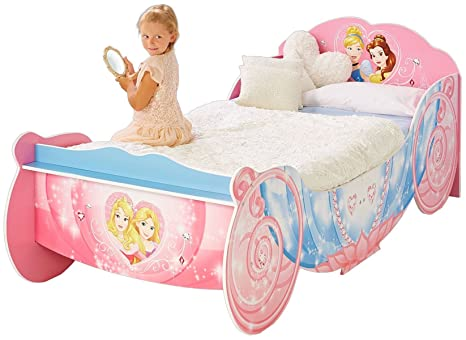 Letto Carrozza Disney : Letto junior carrozza principesse disney dim: l210 x p96 x h80 cm
