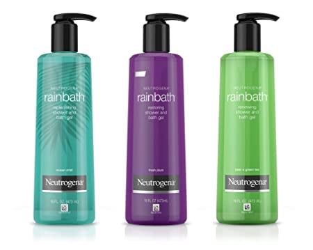 Neutrogena Rainbath Shower Gel 3 Pack 16 Fluid Ounce , 48 Fluid Ounce
