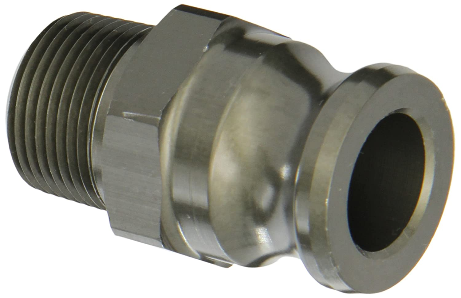 3//4 Adapter x NPT Male F-Adapter PT Coupling 1000607Basic Standard Series 07F Aluminum Cam and Groove Hose Fitting