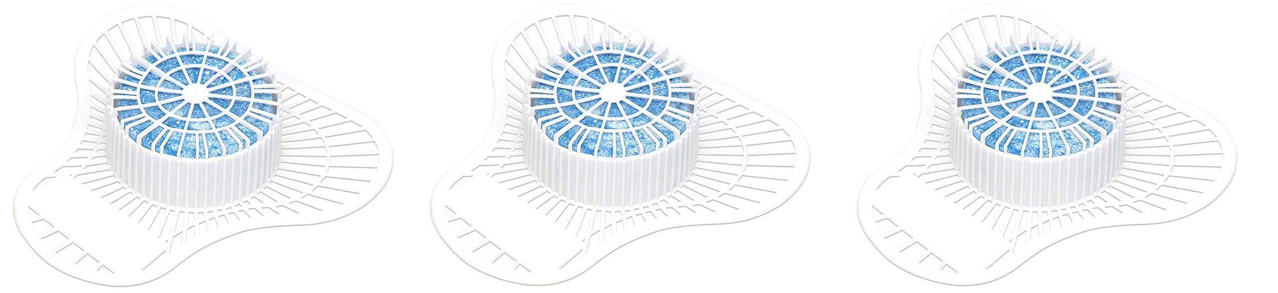 Big D 688 Extra Duty Urinal Screen with Non-Para Block, Mint Fresh Fragrance, 1500 Flushes (Pack of 12) - Ideal for restrooms in offices, schools, restaurants, hotels, stores (Pack of 3)