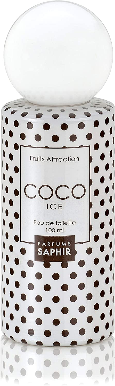 PARFUMS SAPHIR Fruits Attraction Coco Eau de Toilette con Vaporizador para Mujer - 100 ml