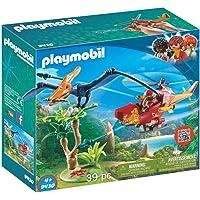 PLAYMOBIL Dinos Helicóptero con Pterosaurio, a Partir