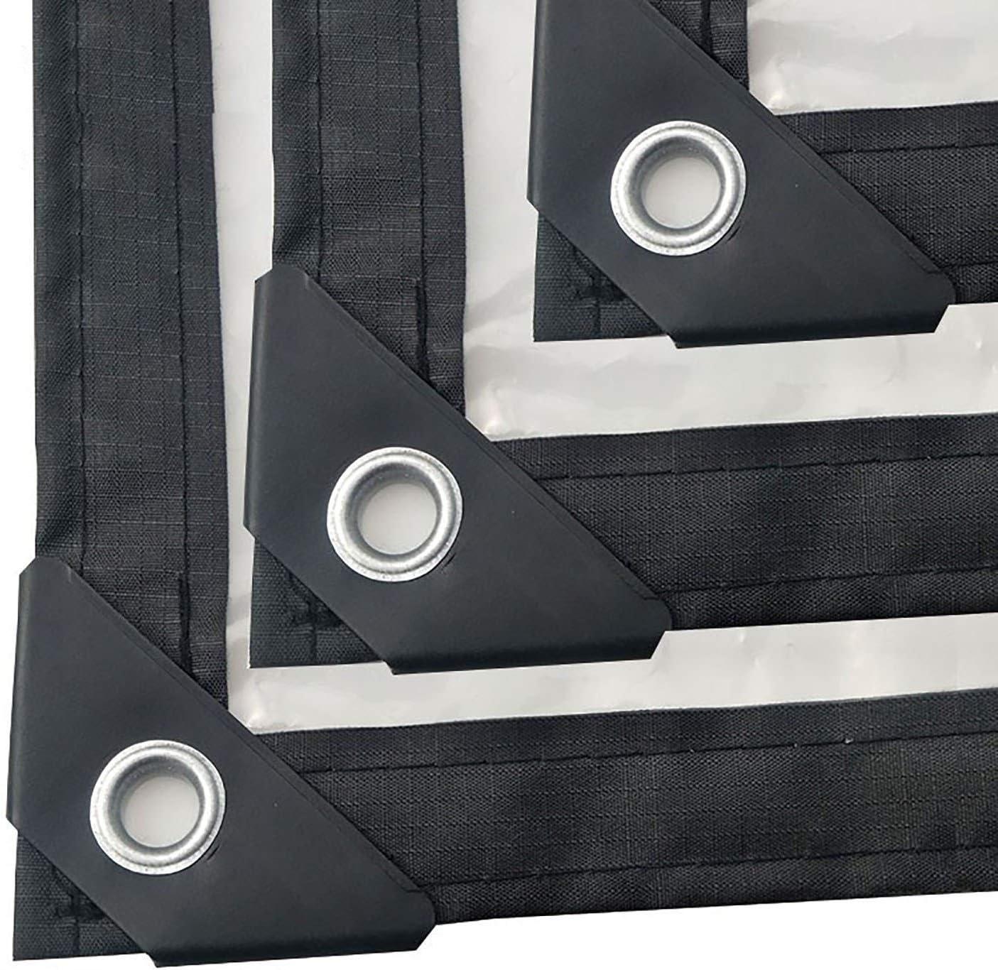 ANUO Lonas Lona Transparente Transparente Lona, PE Pérgola Pabellón Cubierta de Lona de Malla Sol Bordes Reforzados Reversible al Aire Libre (Color : Clear, Size : 2x2m/6x6ft): Amazon.es: Hogar