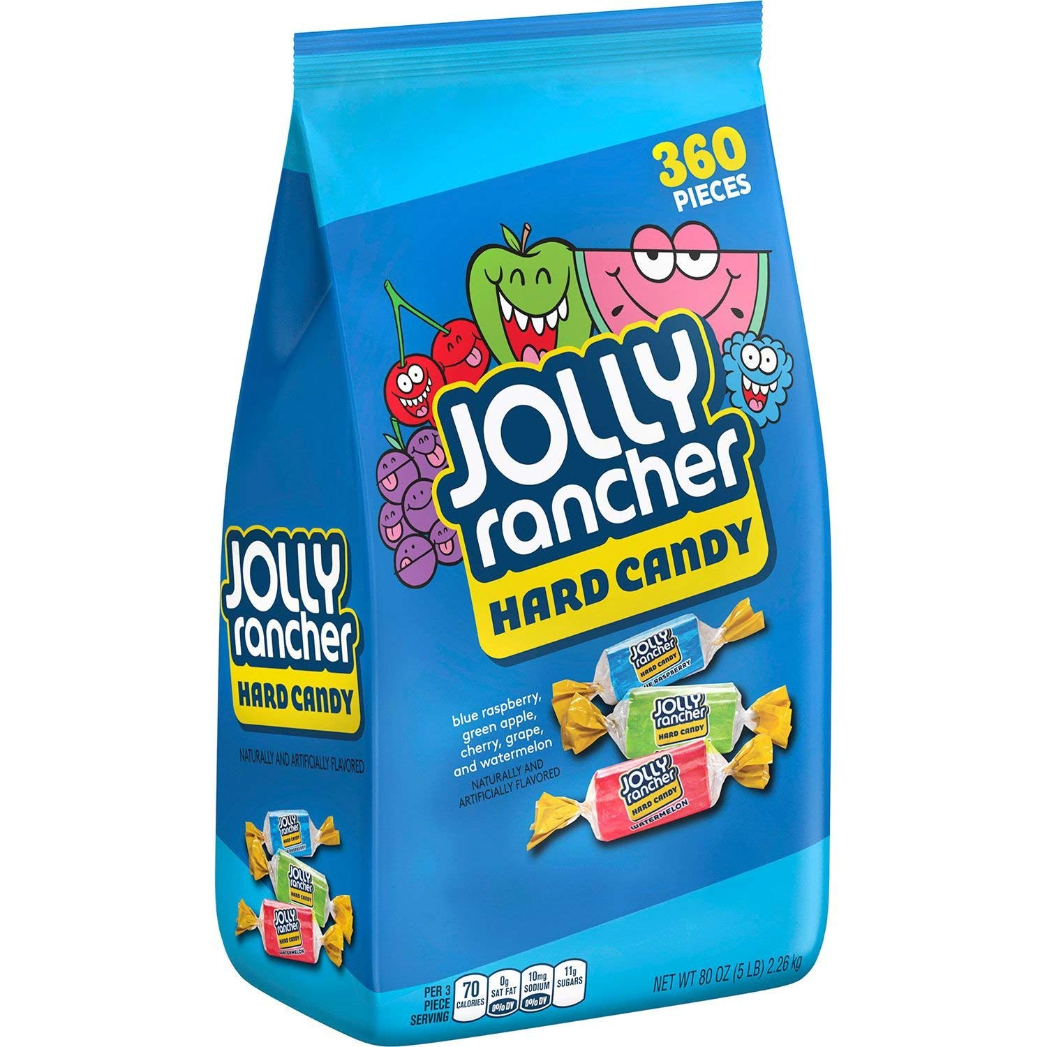 Jolly Rancher Assorted Hard Candy, 10 Lbs