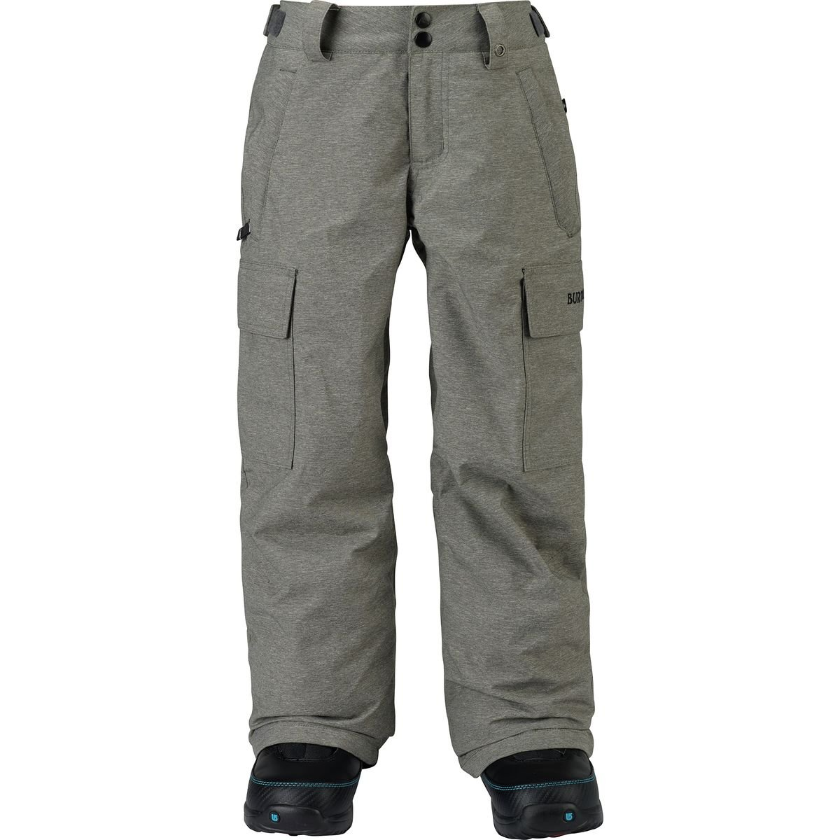 Burton Boys Exile Cargo Pants, Heathers, Large by Burton