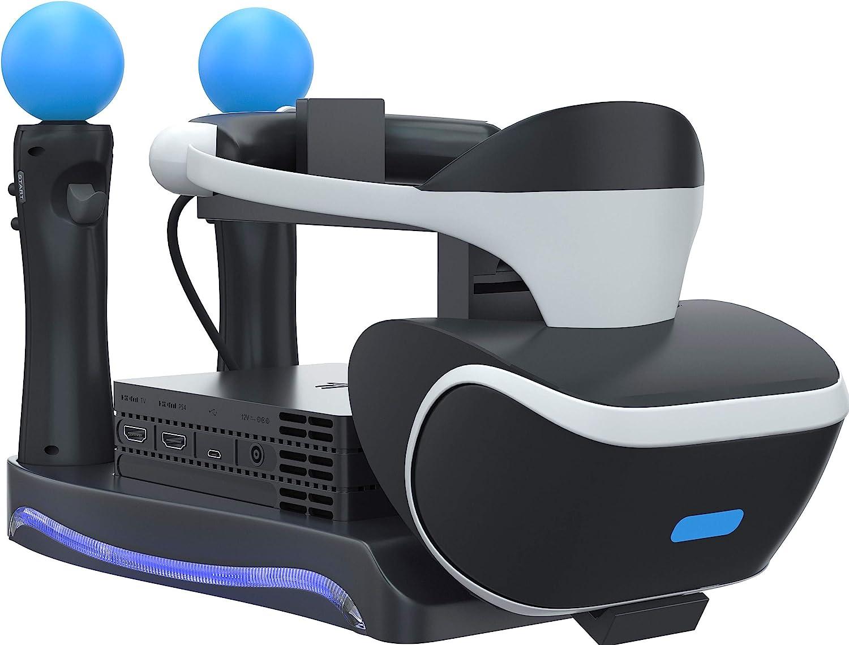 Skywin PSVR Soporte – Carga, exhibe y muestra tu PS4 VR Headset y ...
