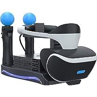 Skywin - Soporte para PSVR - Carga, escaparate y muestra tus auriculares y procesador PS4 VR - Compatible con…
