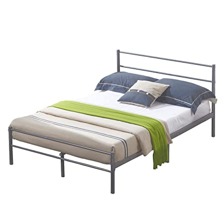 Mecor 4ft6 Metal Bed Frame Double Bed Designer Kids Teens Adults