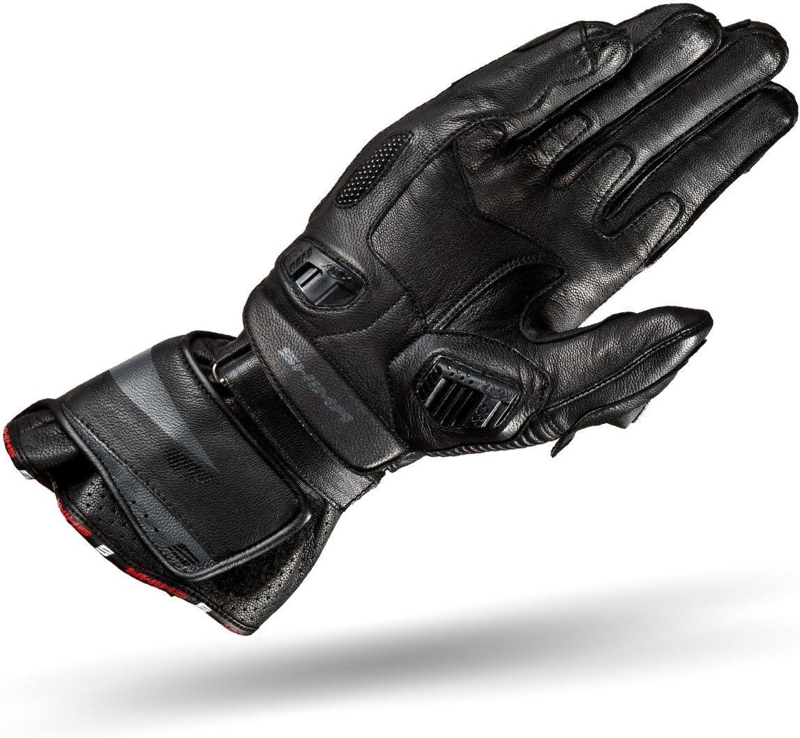 S-XXL Taille:XL KNOX D/ét/é Ventile Protecteur Sport R/étro Classique Gants Moto Blanc Shima RS-1