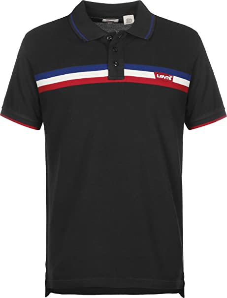 Levis Colorblock Modern Hm Polo Black/true Blue: Amazon.es: Ropa ...