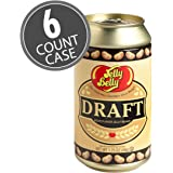 Jelly Belly Draft Beer Can Tin - 1.75 oz Can (Pack of 6)
