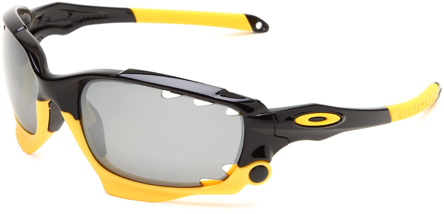 b08a3cae08 Oakley Mens Racing Jacket OO9171-12 Polarized Oval Sunglasses ...