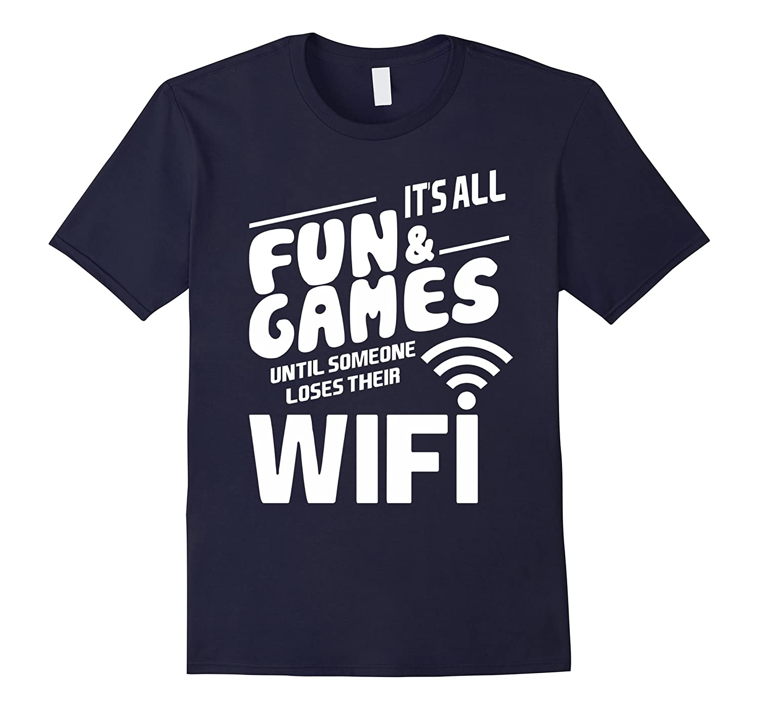 Funny I Love Wifi Geek Technology Shirts Gifts Oufit Clothes-FL