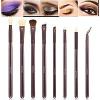 Complete Eyes Makeup set Eyeshadow Eyeliner Brush 8 Pcs Eye Makeup Tools