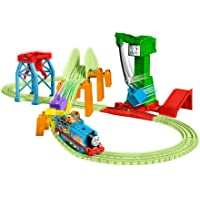 Thomas & Friends GGL75 Trackmaster Hyper Glow Night Delivery Playset,Multicoloured