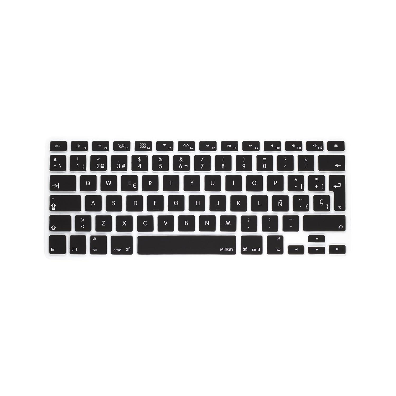 MiNGFi española Cubierta del teclado / Keyboard Cover para MacBook ...