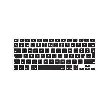 """MiNGFi española Cubierta del teclado / Keyboard Cover para MacBook Pro 13"""" 15"""" 17"""""""
