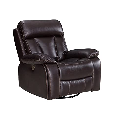 Wondrous Amazon Com Power Recliner Sofa With Usb Charging Port Short Links Chair Design For Home Short Linksinfo
