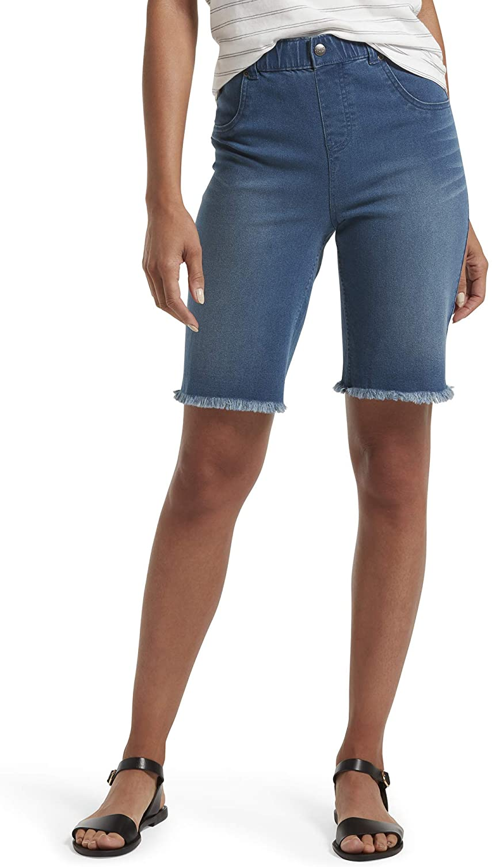 Sanctuary Denim Womens Endless Summer Denim Light Wash Bermuda Shorts BHFO 2214