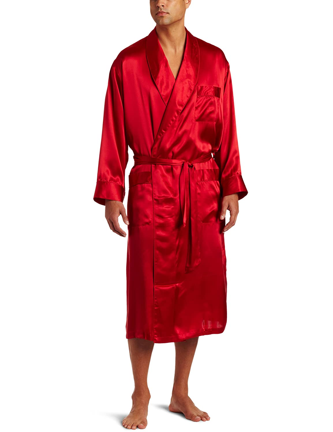 Intimo Men's Sleepwear Classic Silk Robe m501006