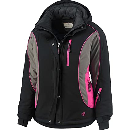 85bd70d59775 Legendary Whitetails Women's Polar Trail Pro Series Jacket Black X-Small