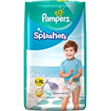 Pampers Splashers Disposable Swim Pants Diapers, 10 Count (X-Large)