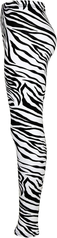 A2Z 4 Kids Kids Girls Legging Designers Animal Zebra Print Stylish Fashion Leggings New Age 5 6 7 8 9 10 11 12 13 Years