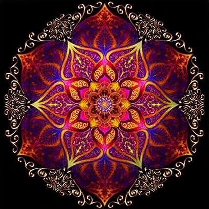 5D Full Drill Diamond Painting Mandala Embroidery DIY Cross Stitch Kit Decor