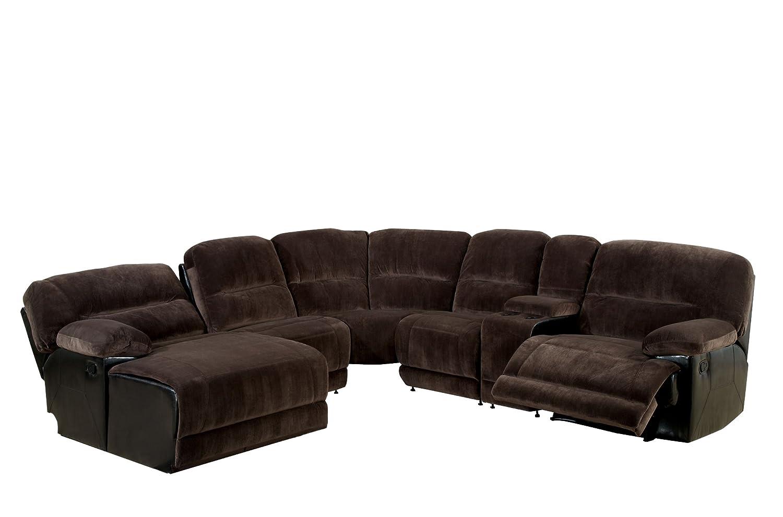 Amazon.com: Muebles de América ladden elefante sofá de piel ...