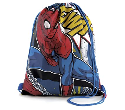 Niños Niñas Infantil Marvel Comics Spiderman Azul/Rojo ...
