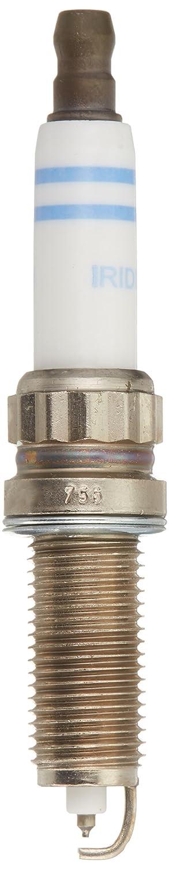 Up to 4X Longer Life Pack of 1 Bosch 9667 Double Iridium Spark Plug