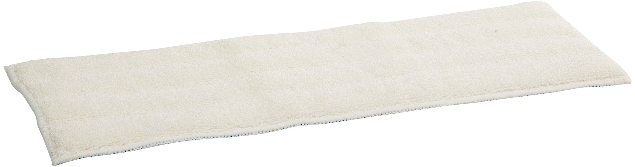 Impact LFFM18 Microfiber Finish Pad with Mesh Back, 18'' Length, White (10 Bags of 12)