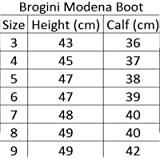 Brogini Modena Ladies Womens Long Horse Riding Showing Jumping Synthetic Equi Leather Boots