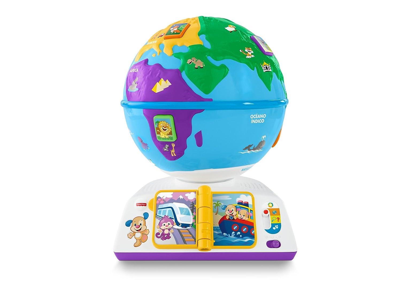 Fisher Price Globo viaja con perrito Mattel DRJ
