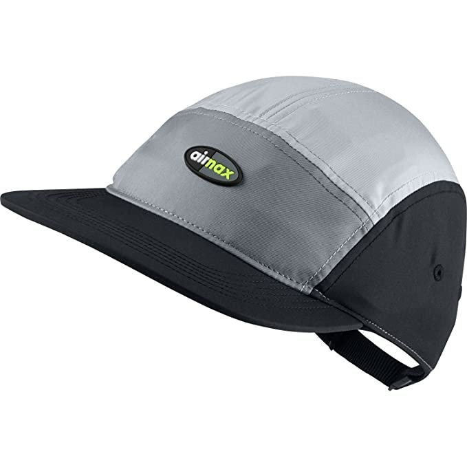 c92ef6e15cd NIKE Aerobill AW84 Air Max Adjustable Unisex Hat Cool Grey Wolf Grey Black  891297