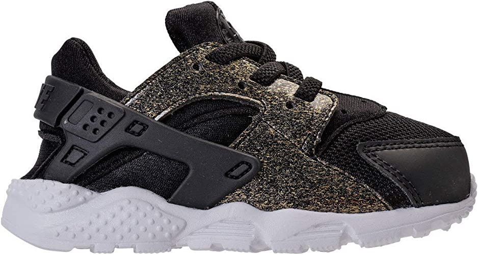 new photos cost charm buy online Amazon.com | Nike Men's Huarache Run SE Black/Metallic Gold 859592 ...