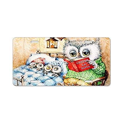 Amazon.com: Khope Bedtime Story custom car license plate frames auto ...
