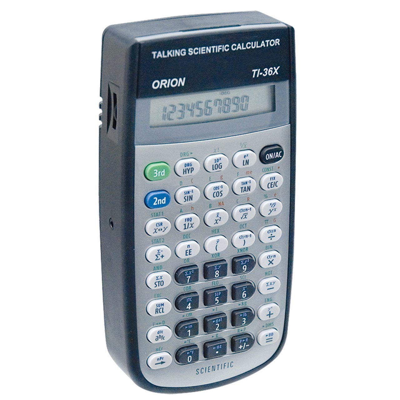 Amazon.com: Orion T136X Talking Scientific Calculator: Health ...