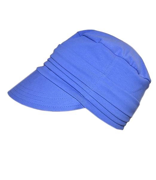 EveryHead Fiebig Gorra De Mujer Tapa Jersey Gorro Pantalla con Visera Tipo Globo Sombrero del Verano