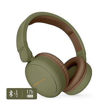 Energy Sistem Headphones 2 - Auriculares con Bluetooth (Over-Ear, Audio-In, Long Battery Life, 180 Plegable) Verde: Energy-Sistem: Amazon.es: Electrónica