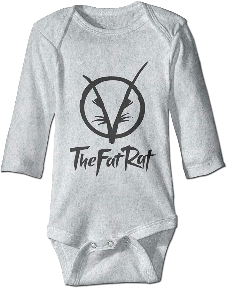 Smooffly Babys Girls Boys TheFatRat Long-Sleeve Bodysuit Clothes Playsuits