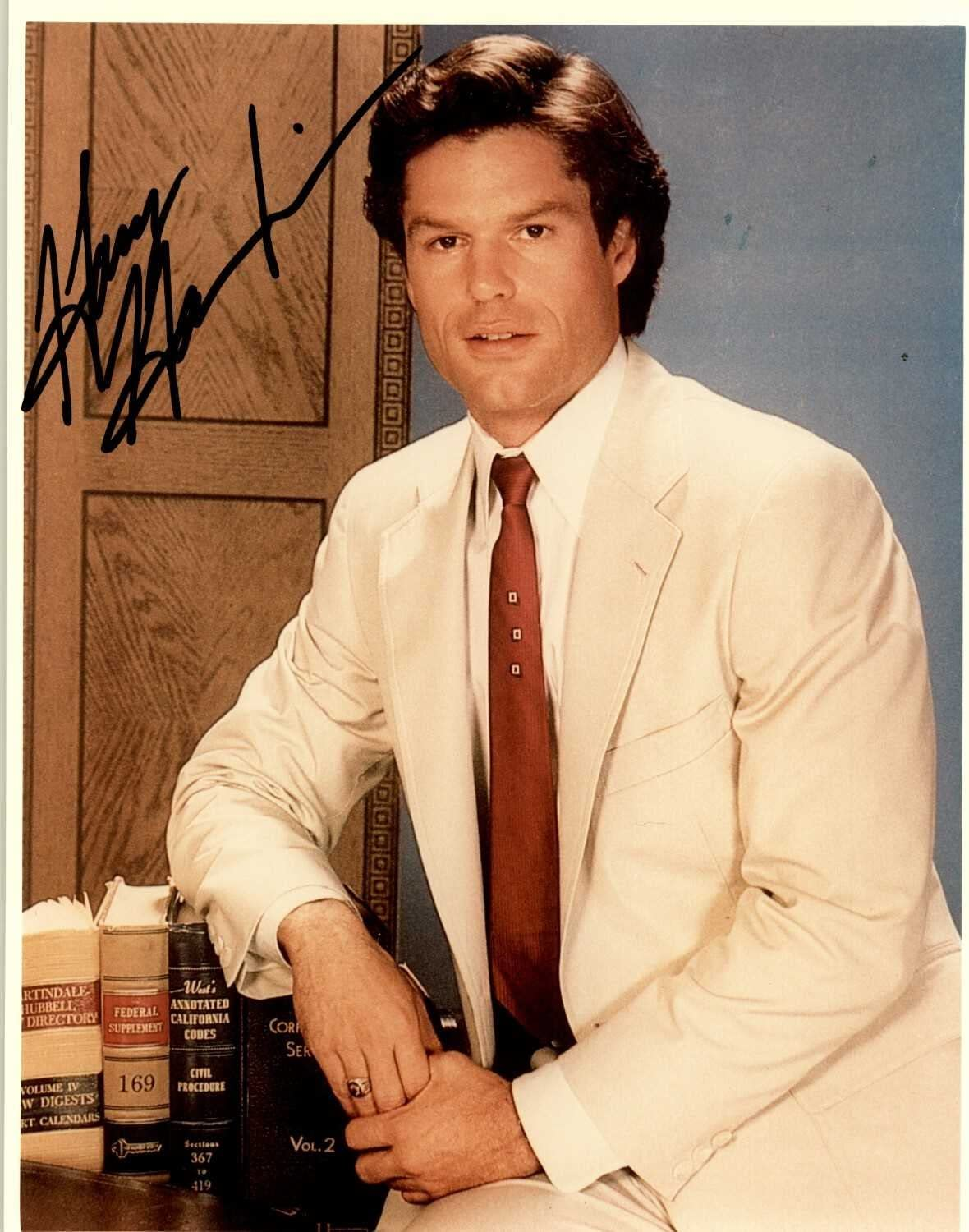 """Harry Hamlin Signed Autographed """"L.A. Law"""" Glossy 8x10 Photo - COA Matching Holograms"""