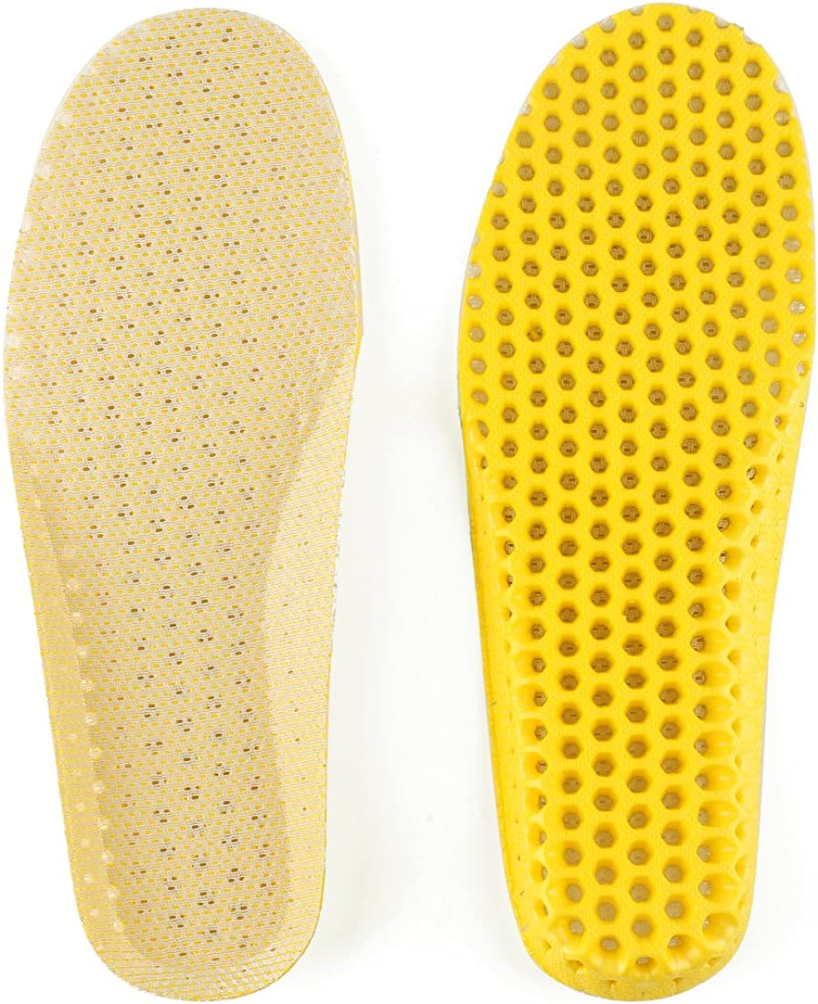 uxcell/® Eva Foam Shoe Insoles for Women and Men Breeze Breathable Memory Running Athletic Shoe Inserts
