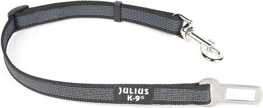 Julius K9 16sga P 1 Color Gray Sicherheitsgurt Adapter Für Hunde Größe 1 Schwarz Grau Haustier